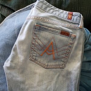 7 for all man kind jeans 29
